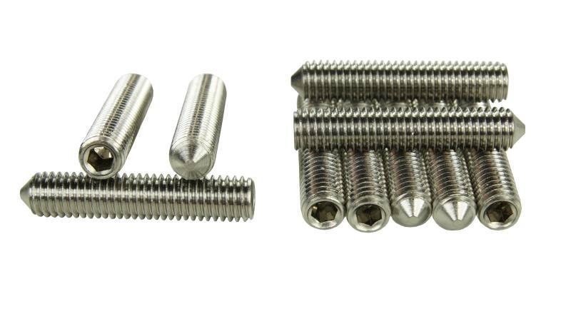 10x Edelstahl Zylinderschrauben Gewinde metrisch Zylinder Schrauben M5 M6 M8 V4A